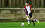Callum Slattery of Southampton during the U23 Premier League 2 match between Southampton and Aston Villa, 15th January 2018, pic by James Bridle