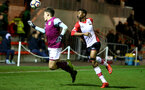 Nathan Tella(R) of Southampton during the U23 Premier League 2 match between Southampton and Aston Villa, 15th January 2018, pic by James Bridle