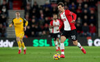 SOUTHAMPTON, ENGLAND - JANUARY 31: Manolo Gabbiadini of Southampton FC during the Premier League match between Southampton and Brighton and Hove Albion at St Mary's Stadium on January 31, 2018 in Southampton, England. (Photo by Matt Watson/Southampton FC via Getty Images)