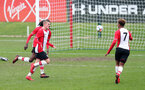 Kornelius Hansen celebrates during the U18 PL match between Southampton and Norwich City, pictured at the Staplewood Campus, Southampton, 10th February 2018