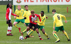 Enzo Robsie during the U18 PL match between Southampton and Norwich City, pictured at the Staplewood Campus, Southampton, 10th February 2018