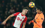 SOUTHAMPTON, ENGLAND - FEBRUARY 11: Guido Carrillo during the Premier League match between Southampton and Liverpool at St Mary's Stadium on February 11, 2018 in Southampton, England. (Photo by Chris Moorhouse/Southampton FC via Getty Images)
