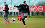SOUTHAMPTON, ENGLAND - FEBRUARY 15: Manolo Gabbiadini during a Southampton FC training session at the Staplewood Campus on February 15, 2018 in Southampton, England. (Photo by Matt Watson/Southampton FC via Getty Images)