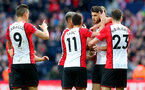 WEST BROMWICH, ENGLAND - FEBRUARY 17: Wesley Hoedt(R) of Southampton celebrates after opening the scoring during the Emirates FA Cup fifth round match between West Bromwich Albion and Southampton at The Hawthorns on February 17, 2018 in West Bromwich, England. (Photo by Matt Watson/Southampton FC via Getty Images)