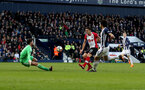 WEST BROMWICH, ENGLAND - FEBRUARY 17: Dusan Tadic of Southampton scores his teams second goal during the Emirates FA Cup fifth round match between West Bromwich Albion and Southampton at The Hawthorns on February 17, 2018 in West Bromwich, England. (Photo by Matt Watson/Southampton FC via Getty Images)