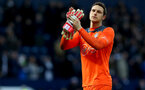 WEST BROMWICH, ENGLAND - FEBRUARY 17: Alex McCarthy of Southampton during the Emirates FA Cup fifth round match between West Bromwich Albion and Southampton at The Hawthorns on February 17, 2018 in West Bromwich, England. (Photo by Matt Watson/Southampton FC via Getty Images)