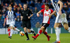 WEST BROMWICH, ENGLAND - FEBRUARY 17: Dusan Tadic of Southampton during the Emirates FA Cup fifth round match between West Bromwich Albion and Southampton at The Hawthorns on February 17, 2018 in West Bromwich, England. (Photo by Matt Watson/Southampton FC via Getty Images)