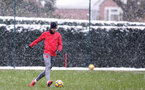 SOUTHAMPTON, ENGLAND - MARCH 02: Jack Stephens of Southampton FC during a training session at the Staplewood Campus on March 2, 2018 in Southampton, England. (Photo by Matt Watson/Southampton FC via Getty Images)