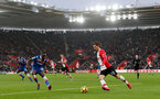 SOUTHAMPTON, ENGLAND - MARCH 03: Manolo Gabbiadini of Southampton during the Premier League match between Southampton and Stoke City at St Mary's Stadium on March 3, 2018 in Southampton, England. (Photo by Matt Watson/Southampton FC via Getty Images)