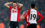 SOUTHAMPTON, ENGLAND - MARCH 03: Wesley Hoedt of Southampton during the Premier League match between Southampton and Stoke City at St Mary's Stadium on March 3, 2018 in Southampton, England. (Photo by Matt Watson/Southampton FC via Getty Images)
