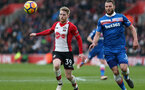 SOUTHAMPTON, ENGLAND - MARCH 03: Josh Sims of Southampton during the Premier League match between Southampton and Stoke City at St Mary's Stadium on March 3, 2018 in Southampton, England. (Photo by Chris Moorhouse/Southampton FC via Getty Images)