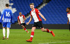 SOUTHAMPTON, ENGLAND - MARCH 05: Armani Little scores for Southampton FC (middle) during the PL2 U23's match between Brighton & Hove Albion FC and Southampton FC at American Express Community Stadium on March 5, 2018 in Southampton, England. (Photo by James Bridle - Southampton FC/Southampton FC via Getty Images)