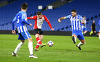 SOUTHAMPTON, ENGLAND - MARCH 05: Jake Hesketh (middle) during the PL2 U23's match between Brighton & Hove Albion FC and Southampton FC at American Express Community Stadium on March 5, 2018 in Southampton, England. (Photo by James Bridle - Southampton FC/Southampton FC via Getty Images)