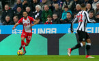 NEWCASTLE UPON TYNE, ENGLAND - MARCH 10: Nathan Redmond of Southampton FC during the Premier League match between Newcastle United and Southampton at St. James Park on March 10, 2018 in Newcastle upon Tyne, England. (Photo by Matt Watson/Southampton FC via Getty Images)