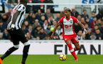 NEWCASTLE UPON TYNE, ENGLAND - MARCH 10: Mario Lemina of Southampton FC during the Premier League match between Newcastle United and Southampton at St. James Park on March 10, 2018 in Newcastle upon Tyne, England. (Photo by Matt Watson/Southampton FC via Getty Images)