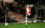 SOUTHAMPTON, ENGLAND - MARCH 12: Jake Hesketh during the PL2 match between Southampton FC and Norwich City FC at Staplewood Training Ground on March 12, 2018 in Southampton, England. (Photo by James Bridle - Southampton FC/Southampton FC via Getty Images)