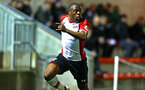 SOUTHAMPTON, ENGLAND - MARCH 12: Michael Obafemi during the PL2 match between Southampton FC and Norwich City FC at Staplewood Training Ground on March 12, 2018 in Southampton, England. (Photo by James Bridle - Southampton FC/Southampton FC via Getty Images)