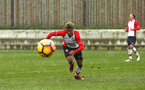 SOUTHAMPTON, ENGLAND - MARCH 17: Enzo Robise during the U18's match between Southampton FC and Reading FC at Staplewood Complex on March 16, 2018 in Southampton, England. (Photo by James Bridle - Southampton FC/Southampton FC via Getty Images)