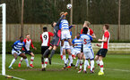 SOUTHAMPTON, ENGLAND - MARCH 17: Southampton FC corner, during the U18's match between Southampton FC and Reading FC at Staplewood Complex on March 16, 2018 in Southampton, England. (Photo by James Bridle - Southampton FC/Southampton FC via Getty Images)