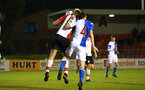 BLACKBURN, ENGLAND - MARCH 20: Aaron OÕDriscoll (left) during the U23's PL2 match between Blackburn Rovers FC and Southampton FC at Lancashire County FA on March 20, 2018 in Leyland, England. (Photo by James Bridle - Southampton FC/Southampton FC via Getty Images) BLACKBURN, ENGLAND - MARCH 20: Aaron O'Driscoll (left) during the U23's PL2 match between Blackburn Rovers FC and Southampton FC at Lancashire County FA on March 20, 2018 in Leyland, England. (Photo by James Bridle - Southampton FC/Southampton FC via Getty Images)