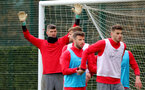 SOUTHAMPTON, ENGLAND - MARCH 22: Fraser Forster during a Southampton FC training session at the Staplewood Campus on March 22, 2018 in Southampton, England. (Photo by Matt Watson/Southampton FC via Getty Images)