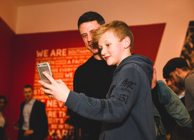 Gallery: Saints exhibition opens at SeaCity Musuem