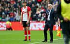 LONDON, ENGLAND - MARCH 31: Mark Hughes of Southampton during the Premier League match between West Ham United and Southampton at the London Stadium on March 31, 2018 in London, England. (Photo by Matt Watson/Southampton FC via Getty Images)