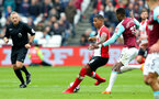 LONDON, ENGLAND - MARCH 31: Mario Lemina of Southampton during the Premier League match between West Ham United and Southampton at the London Stadium on March 31, 2018 in London, England. (Photo by Matt Watson/Southampton FC via Getty Images)