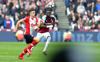 LONDON, ENGLAND - MARCH 31: Dusan Tadic of Southampton during the Premier League match between West Ham United and Southampton at the London Stadium on March 31, 2018 in London, England. (Photo by Matt Watson/Southampton FC via Getty Images)