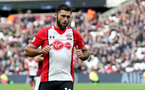 LONDON, ENGLAND - MARCH 31: Charlie Austin of Southampton during the Premier League match between West Ham United and Southampton at the London Stadium on March 31, 2018 in London, England. (Photo by Matt Watson/Southampton FC via Getty Images)