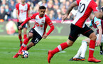 LONDON, ENGLAND - MARCH 31: Sofiane Boufal of Southampton during the Premier League match between West Ham United and Southampton at the London Stadium on March 31, 2018 in London, England. (Photo by Matt Watson/Southampton FC via Getty Images)