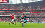 LONDON, ENGLAND - APRIL 08: Dusan Tadic of Southampton during the Premier League match between Arsenal and Southampton at Emirates Stadium on April 8, 2018 in London, England. (Photo by Matt Watson/Southampton FC via Getty Images)