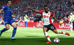 SOUTHAMPTON, ENGLAND - APRIL 14: Ryan Bertrand (right) during the Premier League match between Southampton and Chelsea at St Mary's Stadium on April 14, 2018 in Southampton, England. (Photo by Chris Moorhouse/Southampton FC via Getty Images)