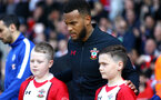 SOUTHAMPTON, ENGLAND - APRIL 14: Ryan Bertrand ahead of the Premier League match between Southampton and Chelsea at St Mary's Stadium on April 14, 2018 in Southampton, England. (Photo by Chris Moorhouse/Southampton FC via Getty Images)