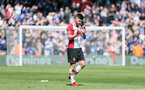 SOUTHAMPTON, ENGLAND - APRIL 14: Shane Long at full-time during the Premier League match between Southampton and Chelsea at St Mary's Stadium on April 14, 2018 in Southampton, England. (Photo by Chris Moorhouse/Southampton FC via Getty Images)