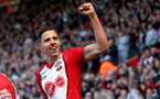 SOUTHAMPTON, ENGLAND - APRIL 14: Jan Bednarek of Southampton during the Premier League match between Southampton and Chelsea at St Mary's Stadium on April 14, 2018 in Southampton, England. (Photo by Matt Watson/Southampton FC via Getty Images)