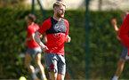 SOUTHAMPTON, ENGLAND - APRIL 18: Josh Sims during a Southampton FC Training session at Staplewood Complex on April 17, 2018 in Southampton, England. (Photo by James Bridle - Southampton FC/Southampton FC via Getty Images)