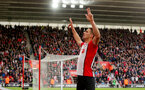 SOUTHAMPTON, ENGLAND - APRIL 28: Dusan Tadic of Southampton celebrates after scoring his second to make it 2-1 to Southampton during the Premier League match between Southampton and AFC Bournemouth at St Mary's Stadium on April 28, 2018 in Southampton, England. (Photo by Matt Watson/Southampton FC via Getty Images)