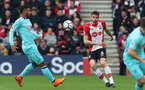 SOUTHAMPTON, ENGLAND - APRIL 28: Wesley Hoedt of Southampton during the Premier League match between Southampton and AFC Bournemouth at St Mary's Stadium on April 28, 2018 in Southampton, England. (Photo by Matt Watson/Southampton FC via Getty Images)