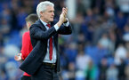 LIVERPOOL, ENGLAND - MAY 05: Mark Hughes of Southampton during the Premier League match between Everton and Southampton at Goodison Park on May 5, 2018 in Liverpool, England. (Photo by Matt Watson/Southampton FC via Getty Images)