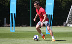 SOUTHAMPTON, ENGLAND - MAY 07: Cedric during a Southampton FC training session at the Staplewood Campus on May 7, 2018 in Southampton, England. (Photo by Matt Watson/Southampton FC via Getty Images)