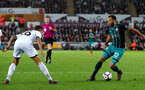 SWANSEA, WALES - MAY 08: Nathan Redmond of Southampton during the Premier League match between Swansea City and Southampton at Liberty Stadium on May 8, 2018 in Swansea, Wales. (Photo by Matt Watson/Southampton FC via Getty Images)