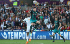 SWANSEA, WALES - MAY 08: Pierre-Emile Hojbjerg of Southampton during the Premier League match between Swansea City and Southampton at Liberty Stadium on May 8, 2018 in Swansea, Wales. (Photo by Matt Watson/Southampton FC via Getty Images)