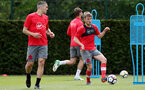 SOUTHAMPTON, ENGLAND - MAY 11: Jake Vokins during a Southampton FC training session at the Staplewood Campus on May 11, 2018 in Southampton, England. (Photo by Matt Watson/Southampton FC via Getty Images)