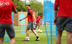 SOUTHAMPTON, ENGLAND - MAY 11: Dusan Tadic (middle) during a Southampton FC training session at Staplewood Complex on May 11, 2018 in Southampton, England. (Photo by James Bridle - Southampton FC/Southampton FC via Getty Images)