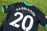 Gabbiadini shirt raises vital Foundation funds