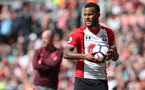 SOUTHAMPTON, ENGLAND - MAY 13: Ryan Bertrand of Southampton during the Premier League match between Southampton and Manchester City at St Mary's Stadium on May 13, 2018 in Southampton, England. (Photo by Matt Watson/Southampton FC via Getty Images)