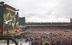 The Rolling Stones No Filter tour comes to Southampton FC's St Mary's Stadium, 29th May 2018