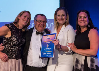 Halo scoop an awards hat-trick