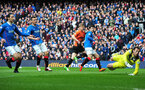 GLASGOW, SCOTLAND - APRIL 12:  Stuart Armstrong of Dundee United scores during the William Hill Scottish Cup Semi Final between Rangers and Dundee United at Ibrox Stadium on April 12, 2014 in Glasgow, Scotland. (Photo by Mark Runnacles/Getty Images)